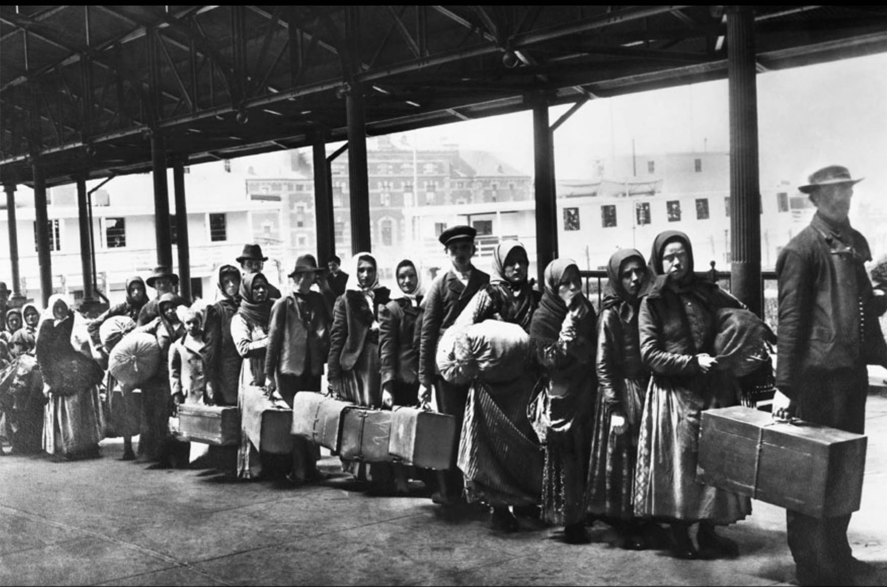 Articolo di Aldo Giobbio sulla storia dei flussi migratori